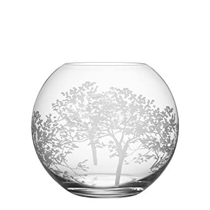 Amazon Orrefors 6101201 Organic Round Vase Medium Home Kitchen