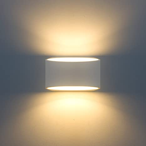 Wall light led fixture up and down indoor modern plaster lamp 100v wall light led fixture up and down indoor modern plaster lamp 100v 240v 7w warm aloadofball Images