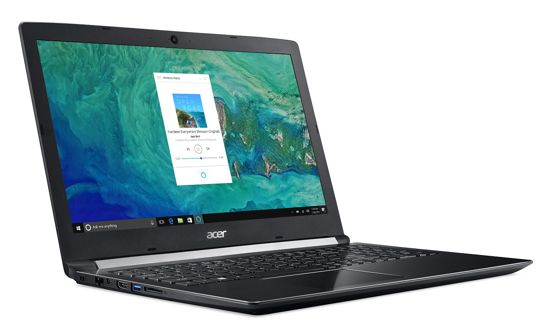 Acer Aspire 5 A515-51G-53V6, 15.6 Full HD, 8th Gen Intel Core i5-8250U, Alexa Built-in, NVIDIA GeForce MX150, 8GB DDR4, 256GB SSD, Obsidian Black