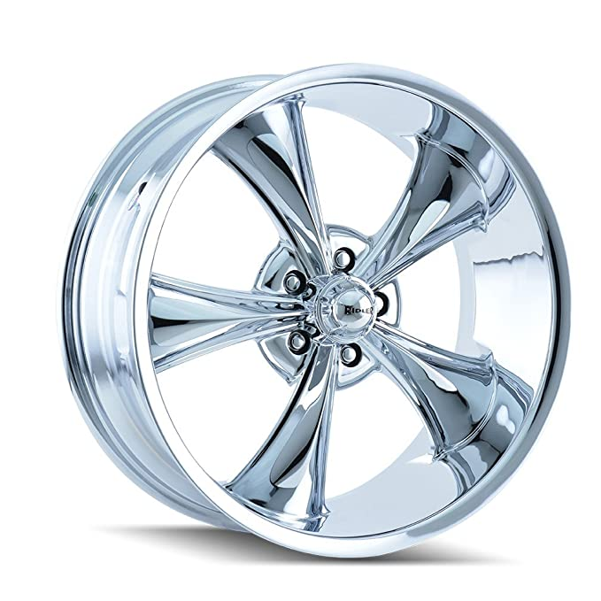 RIDLER 650 Wheel with CHROME 17 x 7. inches //5 x 120 mm, 0 mm Offset