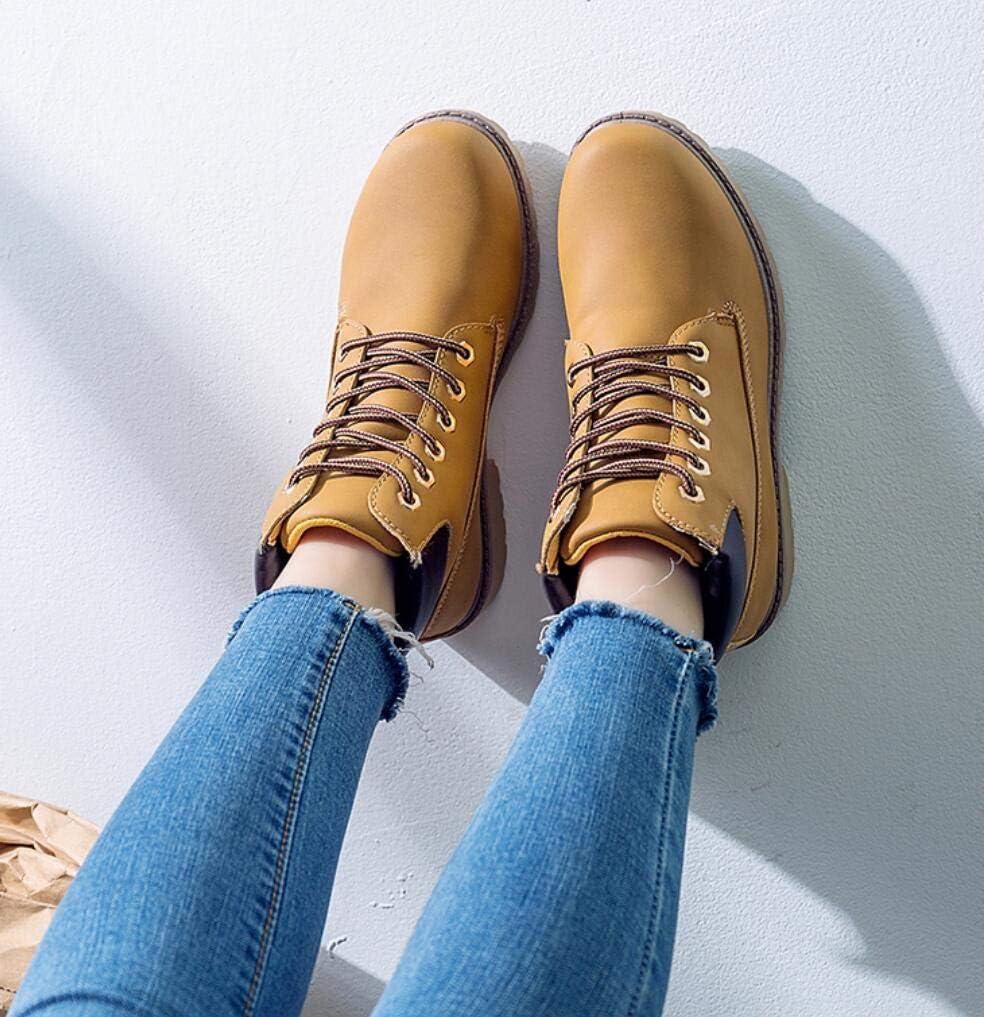 ZYLL 2020 Hot Winter Schnee-Aufladungen Frauen-Flache Ferse Stiefel Mode Warmhalte Boots Ankle Frauen Yellow