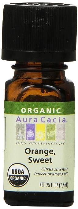 Aura Cacia Organic Orange Oil