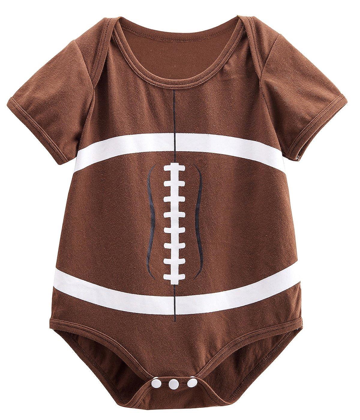 Mombebe Bebé Niños Fútbol Disfraz Camisillas