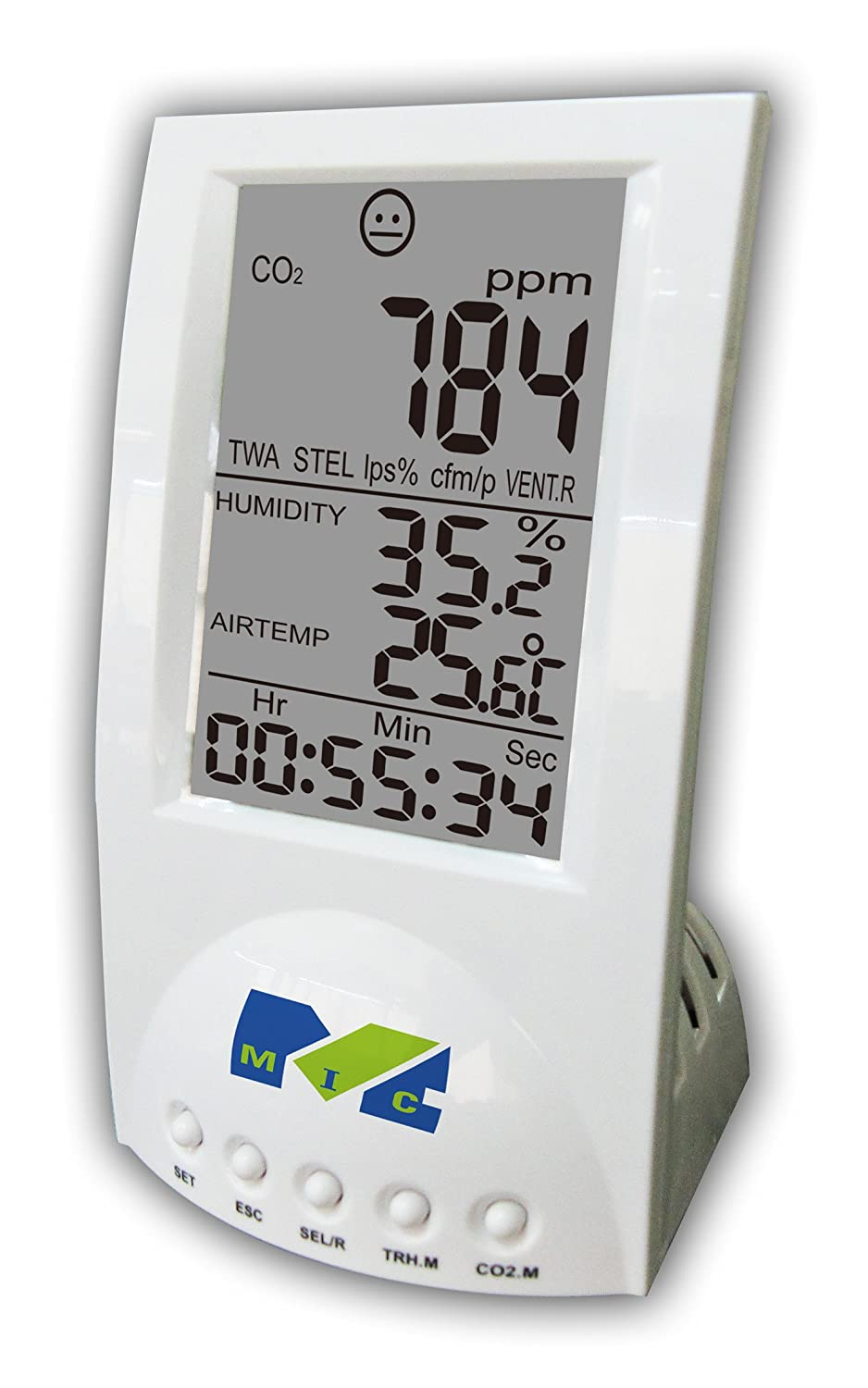 MIC 98130 Desktop CO2 Indoor Air Quality Monitor for Carbon