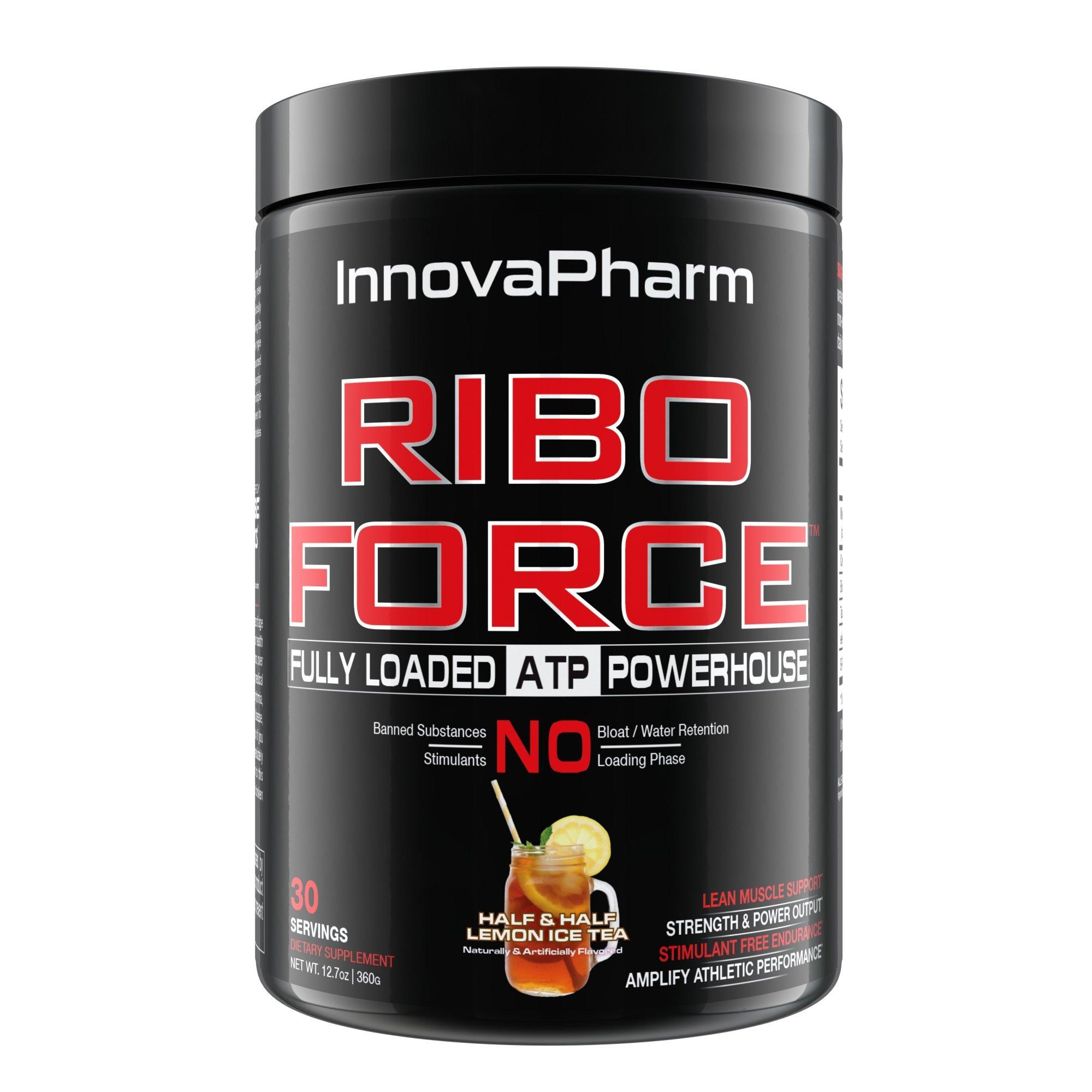 RiboForce - Half & Half Lemon Iced Tea - 30 Servings by InnovaPharm