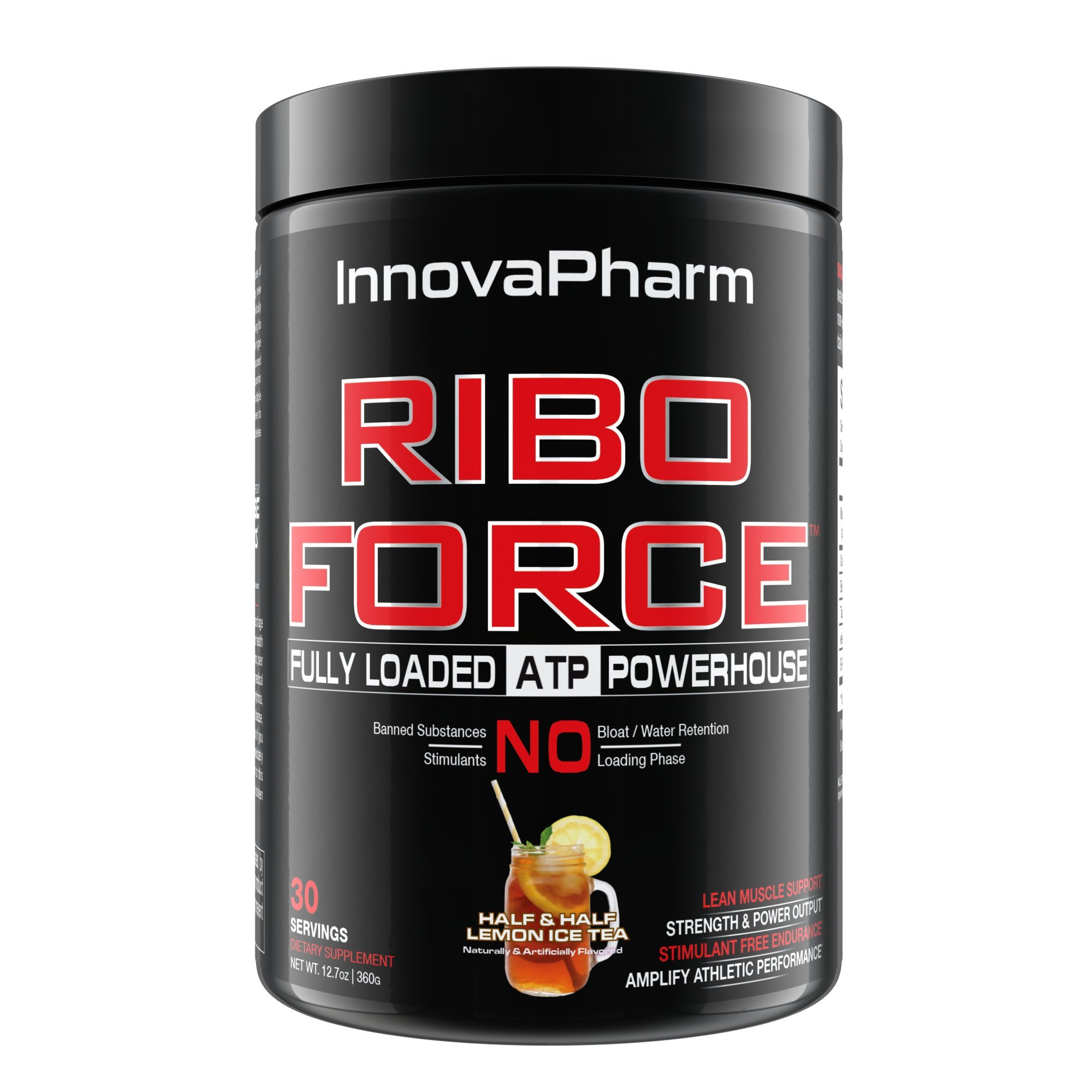 RiboForce - Half & Half Lemon Iced Tea - 30 Servings