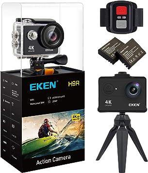 Amazon.com: EKEN H9R Cámara de Acción 4K, Full HD WiFi ...