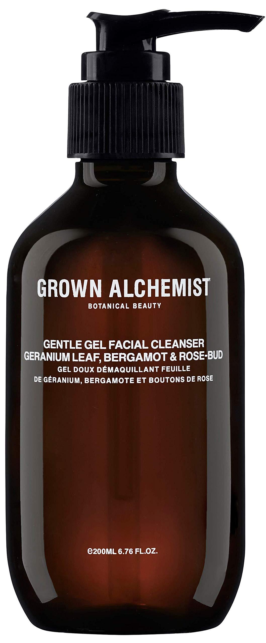 Grown Alchemist Gentle Gel Facial Cleanser - Geranium Leaf, Bergamot & Rose-Bud (200ml / 6.76oz)