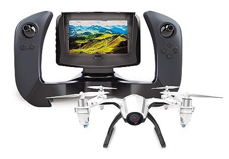 U28 Drone con cámara vídeo en directo en pantalla LCD Handheld RC de 4 pulgadas para