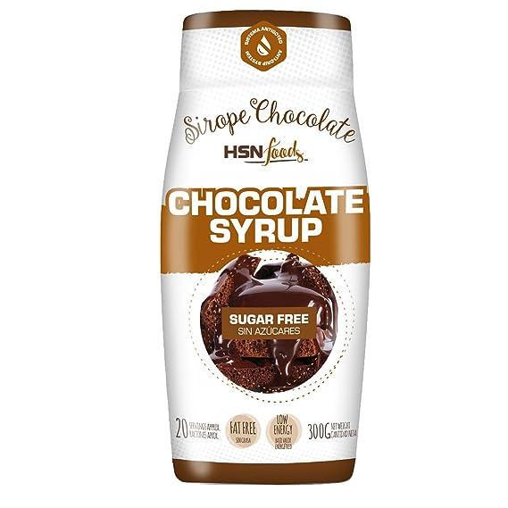 HSN Foods - Sirope de Chocolate - Sin azúcar, Sin calorías - Apto para la