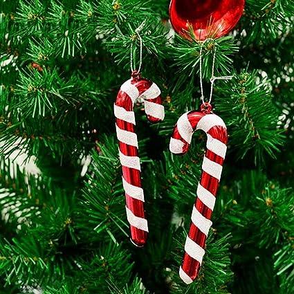 Candy Cane Christmas Tree.Amazon Com Berteri 18pcs Christmas Canes Christmas Tree