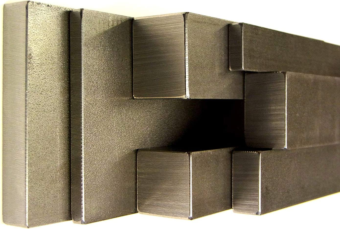 DIN 10278 Flacheisen Bandstahl Flachmaterial Flachstahl S235 JRC+C St37 6x2x500 DIN 10277