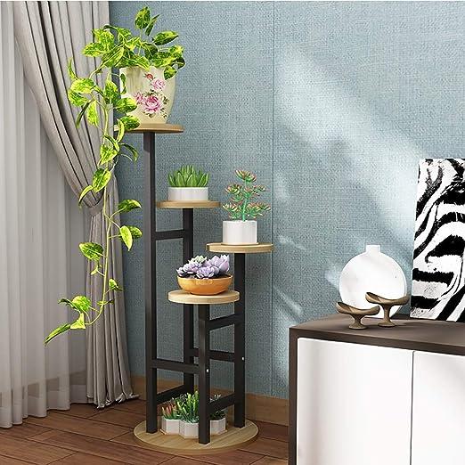 Puesto de plantas Soporte de flores vertical de múltiples capas de ...