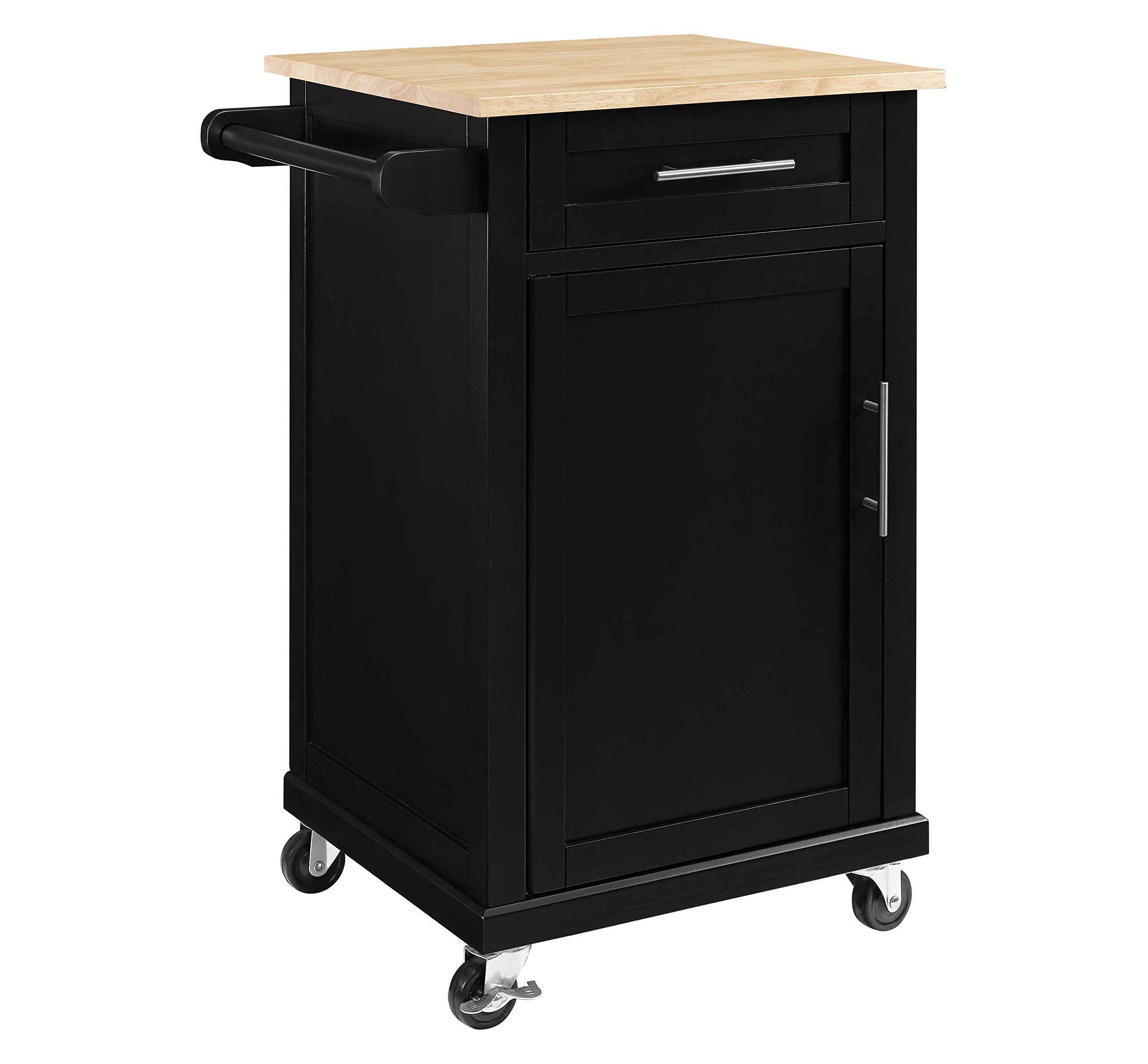 Threshold Carey Small Kitchen Cart (Black)