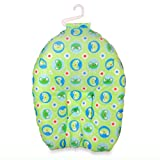 Leachco Safer Bather infant Bath Pad, Face the Frog