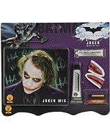 Batman Dark Knight Deluxe Joker Makeup Kit with Wig