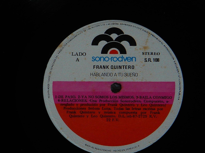 Frank Quintero, Leo Quintero - Hablando a Tu Sueño (Frank Quintero) - Amazon.com Music