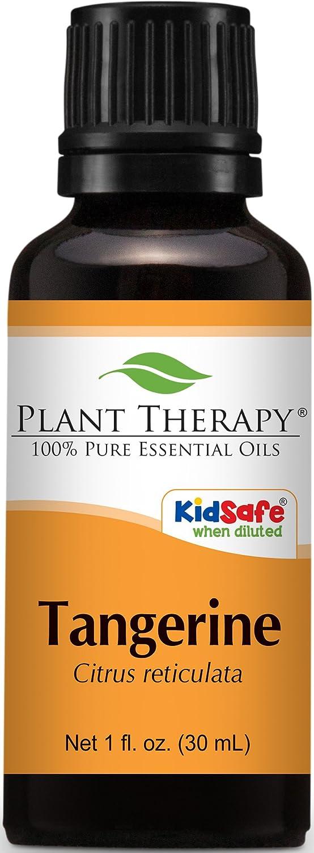Plant Therapy Tangerine Essential Oil. 100% Pure, Undiluted, Therapeutic Grade. 30 ml (1 oz).