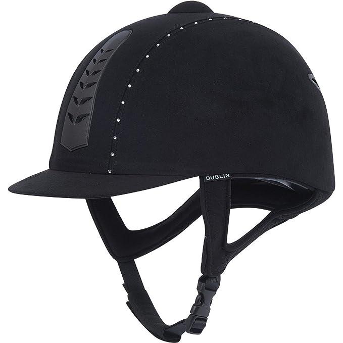 Dublin Unisex Pro Diamante Riding Hat