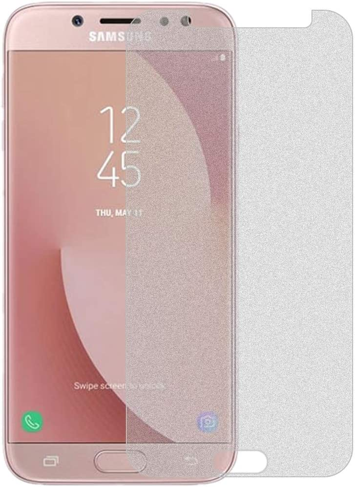 // J7 Pro No Retail Package GzPuluz Glass Protector Film 50 PCS Non-Full Matte Frosted Tempered Glass Film for Galaxy J7 2017