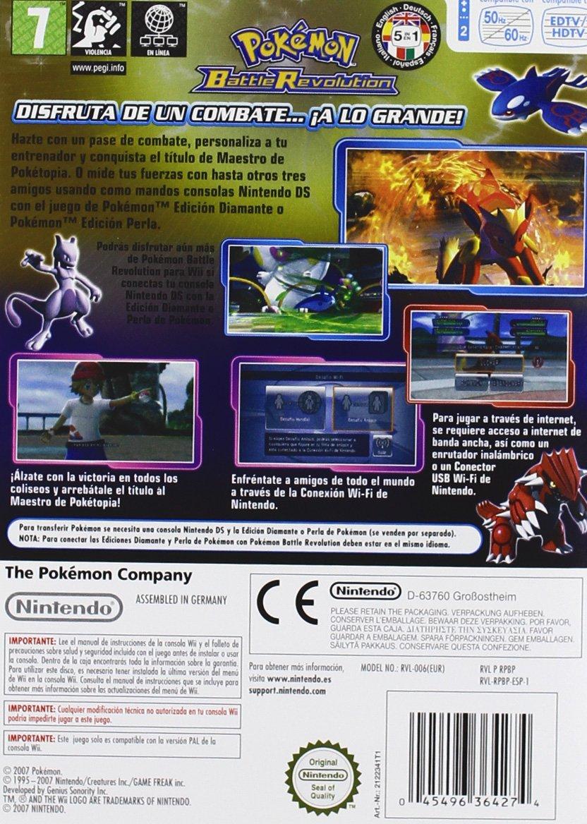 Wii Pokémon Battle Revolution: Amazon.es: Videojuegos