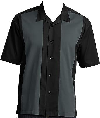 Good Life - Camisas de Acampada de Bolos para Hombre - Gris - Small: Amazon.es: Ropa y accesorios