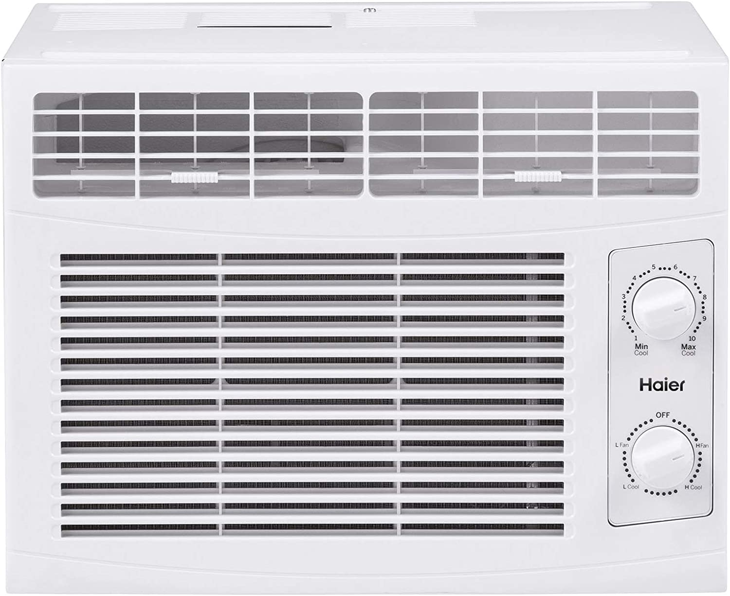 Haier QHV05LZ 5,050 BTU 115-Volt Window Air Conditioner humidty-meters, 5,000 115V