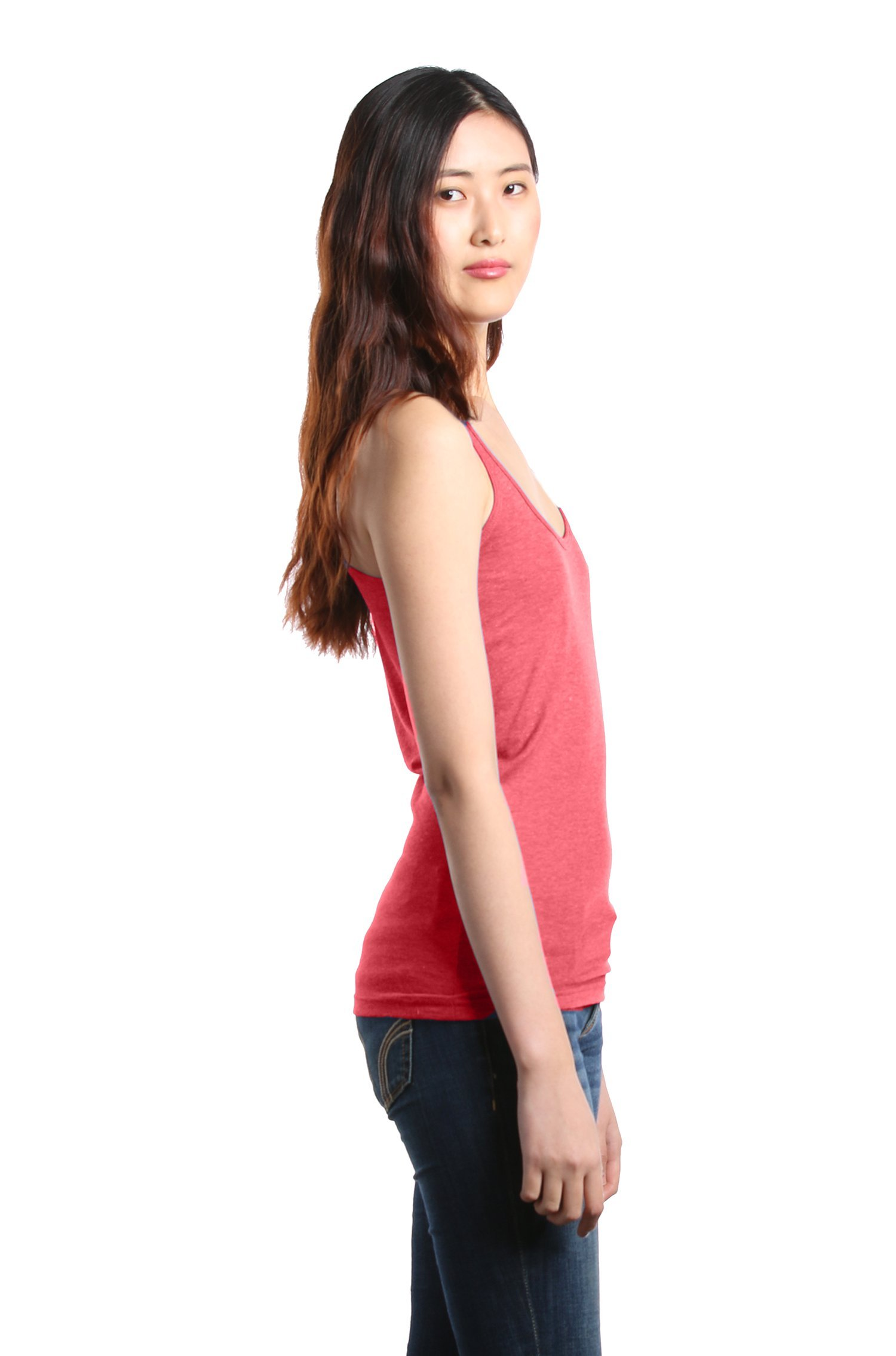 Shop4Ever Drinking Wine & Feeling Fine Women's Racerback Tank Top Wino Tank Tops Medium Red 0 by Shop4Ever (Image #2)