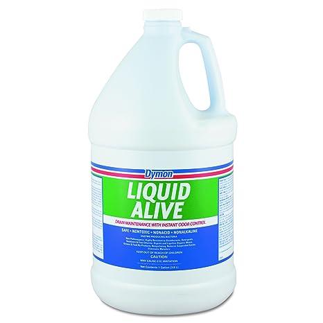 dymon dym 23301 líquido vivo producción de enzimas bacterias ...