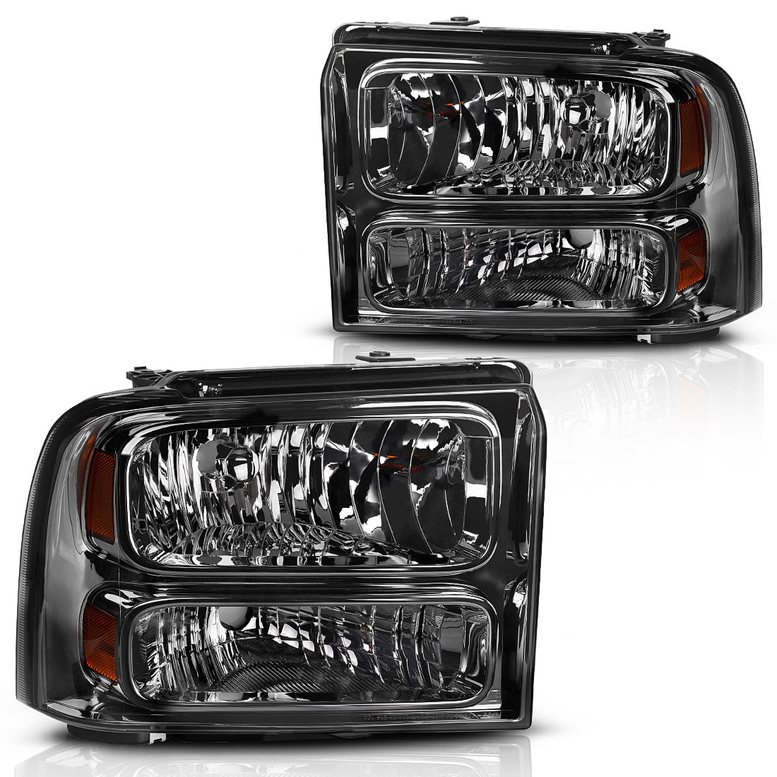 Headlight Assembly For 2005 2006 2007 Ford F250 F350 F450 F550 Super Jeep Wrangler Diagram Duty