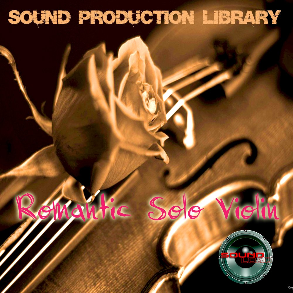 ROMANTIC SOLO VIOLIN PLATINUM Collection - HUGE Sound Library and Production tools 14GB on 4DVD!!! by SoundLoad