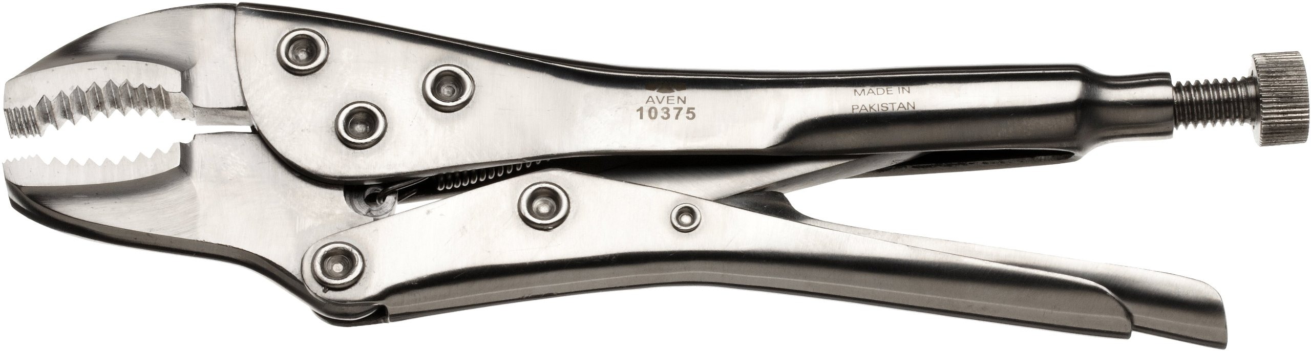 Aven 10375 Stainless Steel Vice Grip Locking Pliers, 7'' by Aven