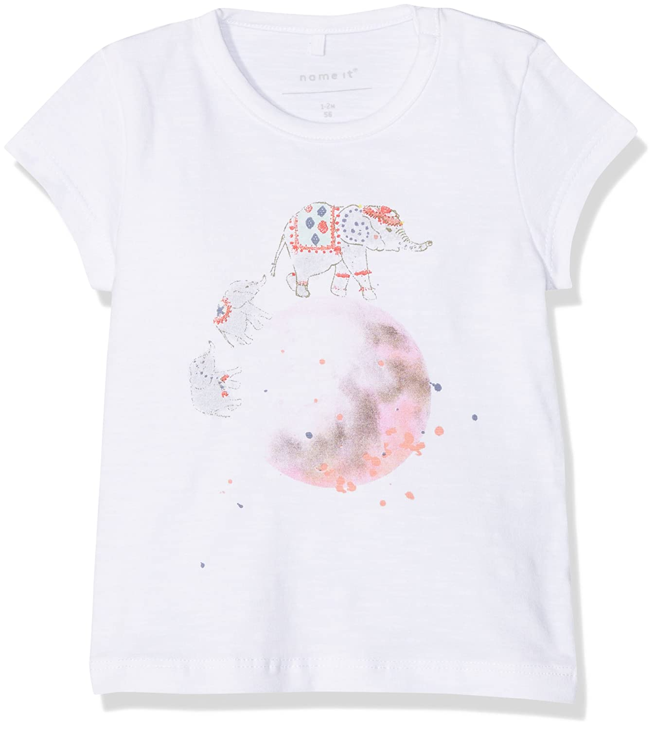 NAME IT Baby-M/ädchen Nbfgamisse Ss Top T-Shirt