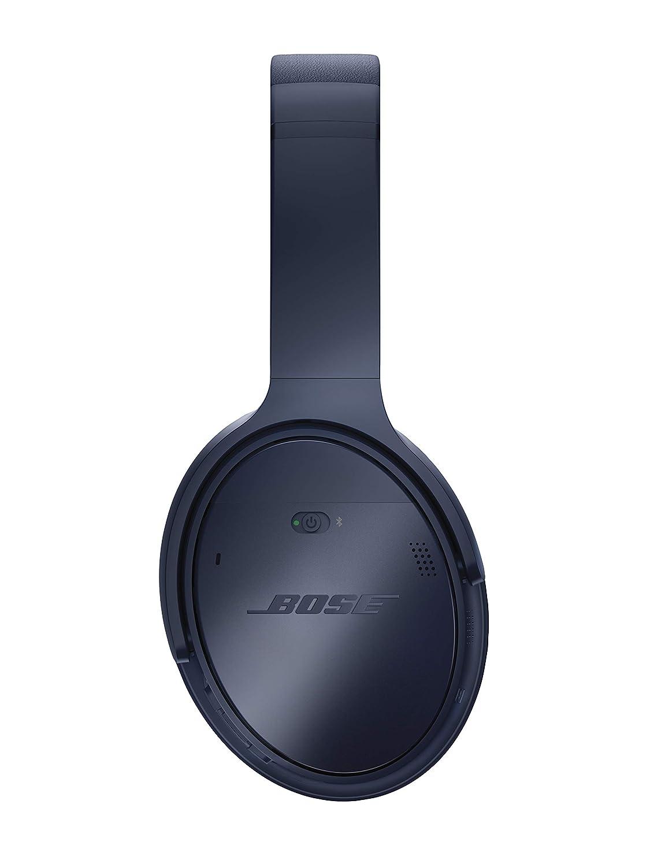 Bose QuietComfort 35 Series II Wireless Headphones, Noise Cancelling, with Alexa voice control Triple Midnight
