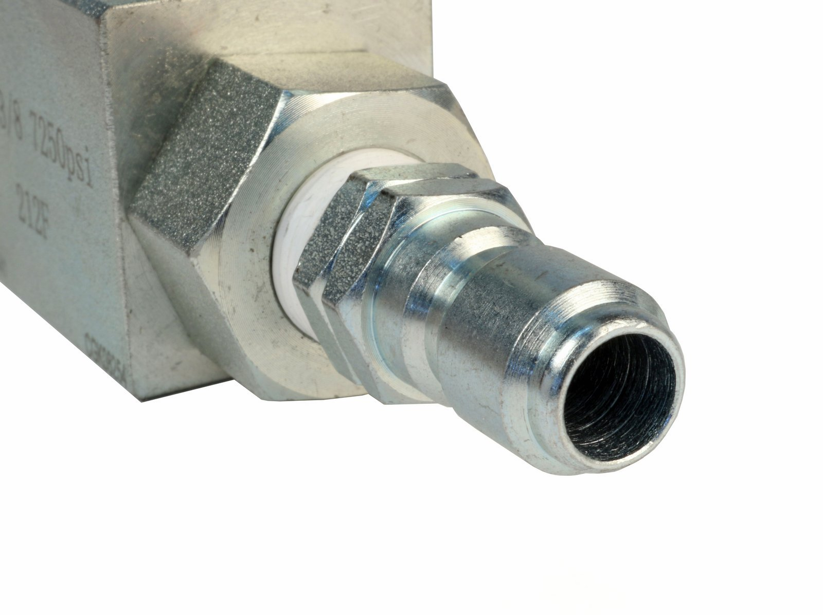 High Pressure Ball Valve Kit 3/8'' Male Plug X 3/8'' Female Quick Connect 4000PSI for High Pressure Hoses by Raptor Blast (Image #4)
