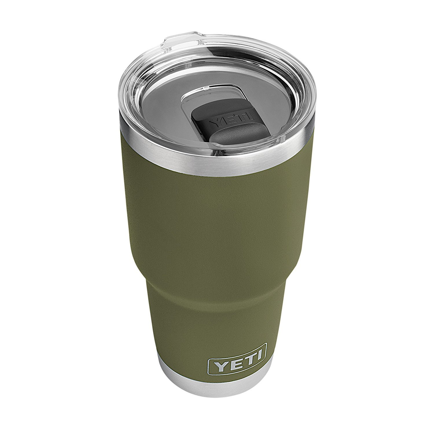 YETI Rambler 30 oz Stainless Steel Vacuum Insulated Tumbler w/ MagSlider Lid, Olive Green by YETI