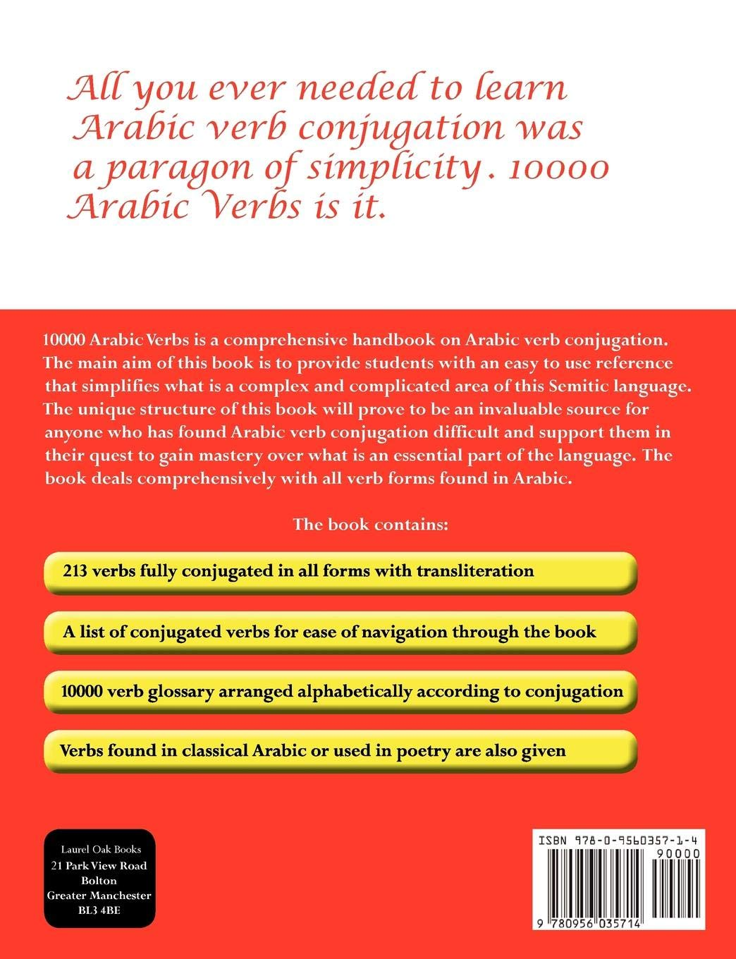 Buy 10000 Arabic Verbs Book Online at Low Prices in India