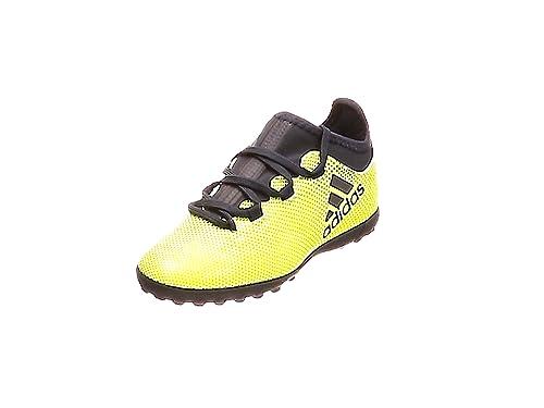 big sale fac81 653c2 adidas X Tango 17.3 Tf J, Chaussures de Football Garçon, Blanc, Jaune (