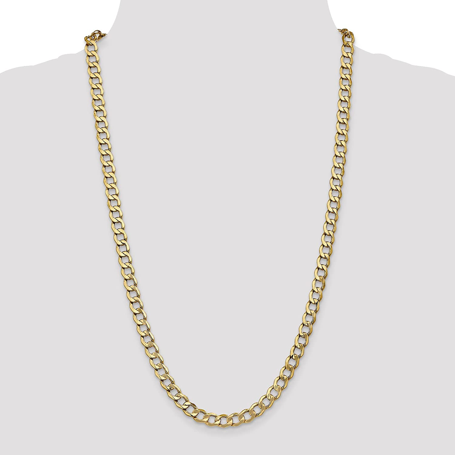 """18k Yellow Gold Filled Men/'s//Women/'s Necklace 24/""""Stud Chain 8MM Link Jewelry"""