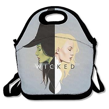 nnhaha Wicked Logo bolsa para el almuerzo Tote bolso almuerzo cajas: Amazon.es: Hogar