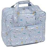Hobbygift - Bolsa para máquina de coser, azul