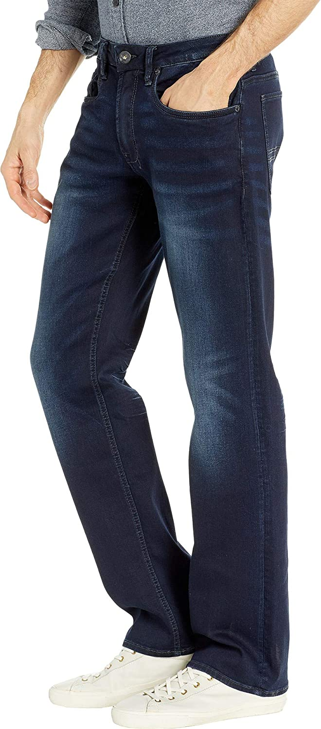 Buffalo David Bitton Mens Driven X Relaxed Straight in Authentic and Deep Indigo Authentic and Deep Indigo 42 30