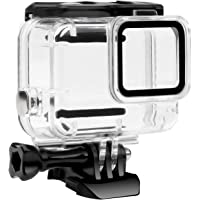 FitStill Waterproof Housing Case for GoPro Hero 7 White & Silver, Protective 45m Underwater Dive Case Shell with Bracket…
