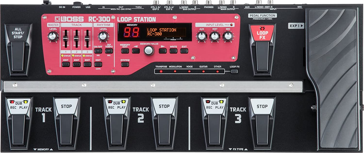 BOSS RC-300 pedal looper