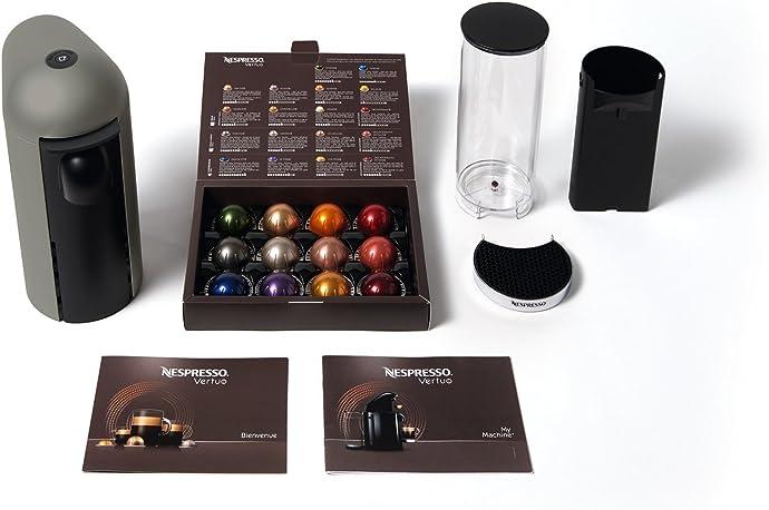 Breville 铂富 VertuoPlus Nespresso胶囊咖啡机+12粒胶囊咖啡 2.9折$72.35史低 海淘转运到手约¥892
