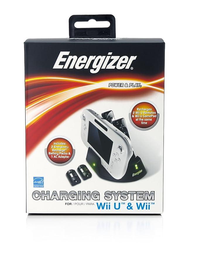 PDP - Cargador Energizer Para 2 Mandos (Nintendo Wii U ...