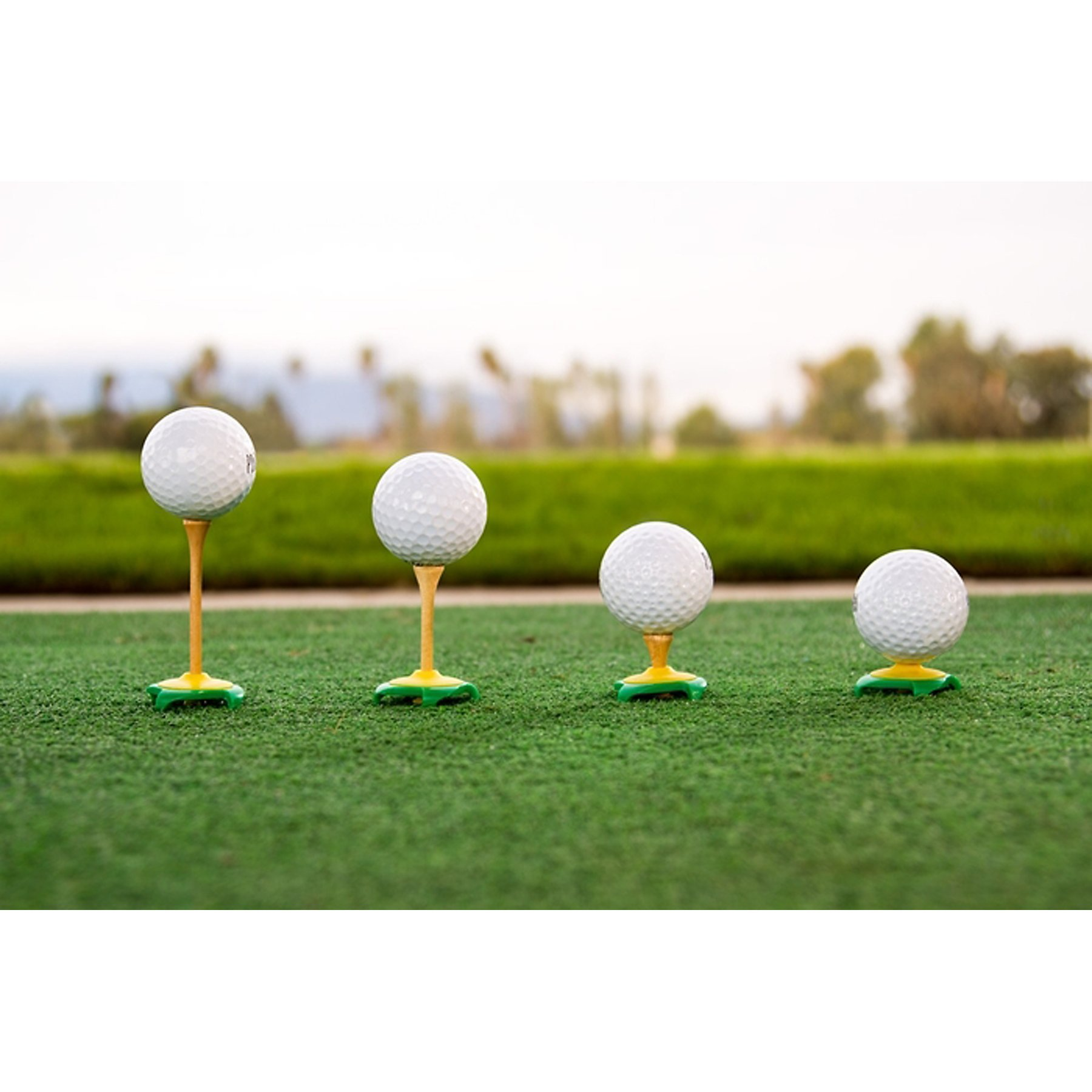 ProActive Sports Tee Claw Artificial Grass Mat Real Tee Holder & Alignment Training Aid by ProActive Sports (Image #4)