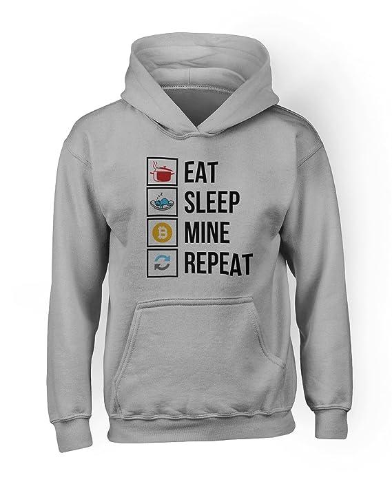 Comprar sudadera Eat Sleep Mine Repeat