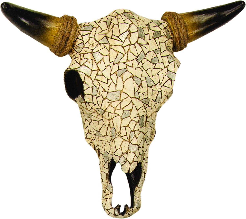 Fancy Longhorn Skull Wall Decoration Photo - The Wall Art ...