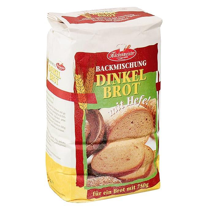 Bielmeier - Cocina Meister Panificadora mezcla Espelta Pan (Lote ...